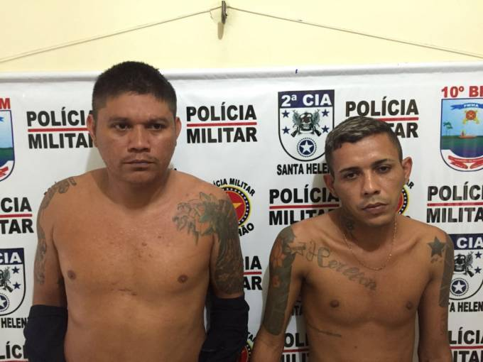 Emerson German Gouveia da Silva, 26 anos e Jhones Pereira Lima, 38 anos