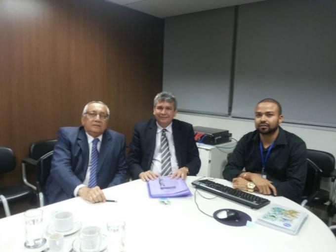 Audiência com o presidente do FNDE Gastão Vieira.