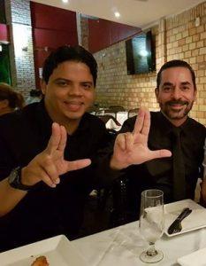 Janderson Landim (na foto) ao lado de Luciano Genésio