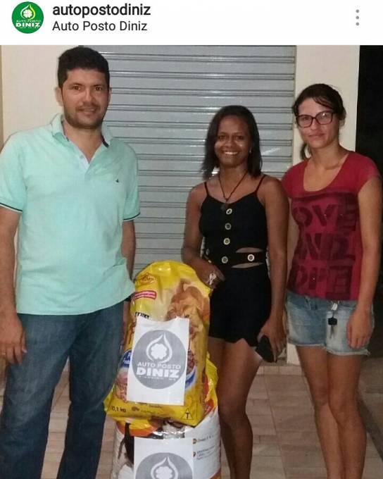 Empresário Geraldo Junior e Letícia Guterres e Rafaela de Moraes, fundadoras do projeto.