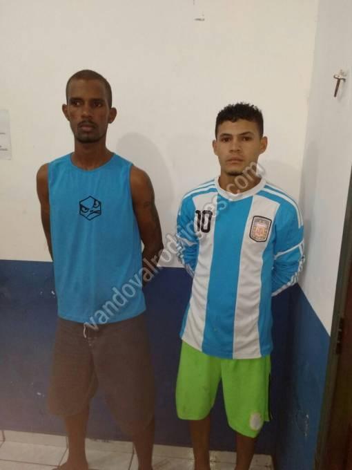 Marcelo Vieira Viegas 18 anos e Rogério Barros Soares de 23 anos.