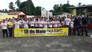 Prefeitura de Porto Rico do MA realiza caminhada contra Abuso e Exploração Sexual de Crianças e Adolescentes