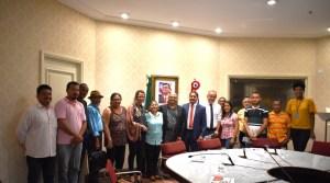 Com o apoio do deputado Zé Inácio, Fetraf participa de audiência com o governador Flávio Dino