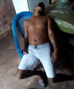 Achado de cadáver em São Bento