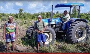 Prefeitura de São Bento realiza segunda etapa do Polo Agrícola em São Felipe