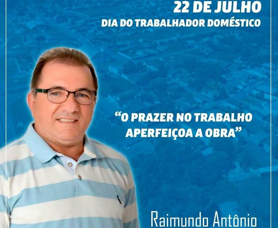Prefeito Raimundo Antônio homenageia trabalhadores no Dia Internacional do Trabalho Doméstico