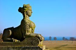 Sphinx ved Eremitageslottet