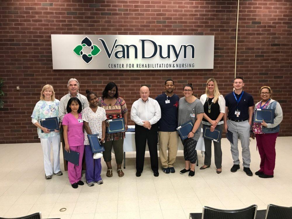 Van Duyn Center for Rehabilitation and Nursing rehabilitation, Syracuse