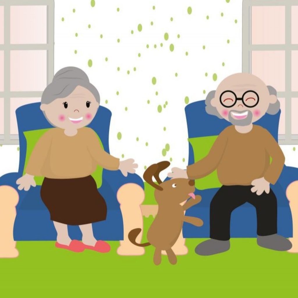 Pets are Good for Seniors