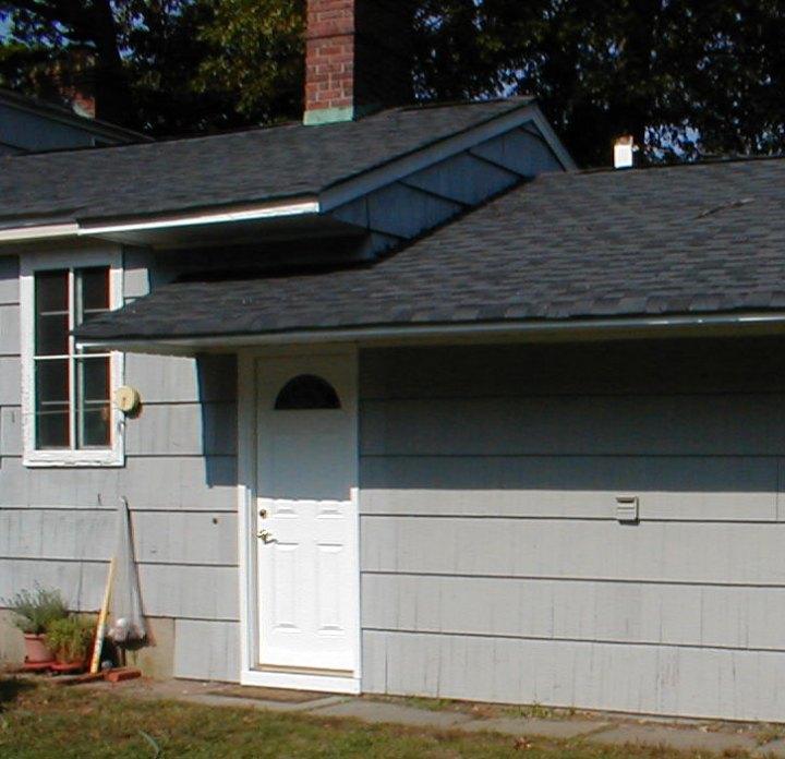 garage overhang