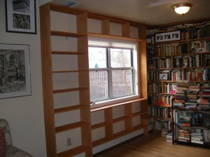 custom book case