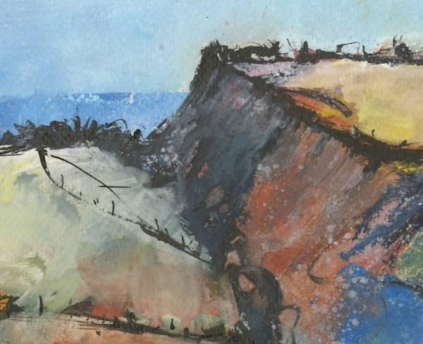 Tregardock Cliffs detail