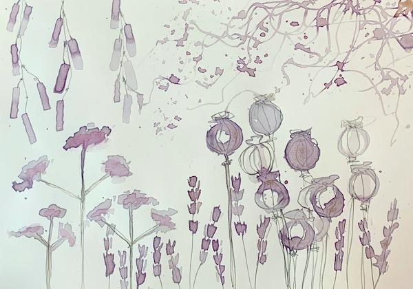 Tea Garden- Finding your inner artist