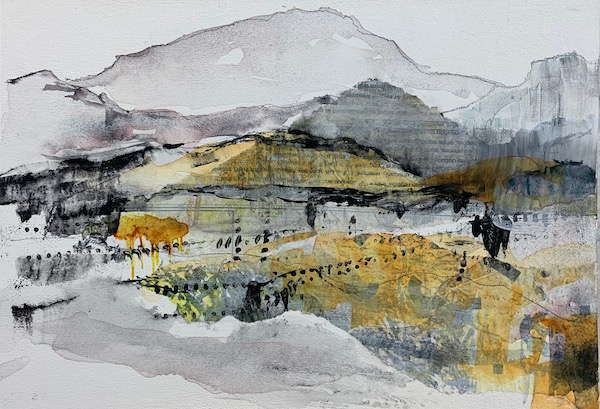 Why artists create - an image of an expressive landscape painting