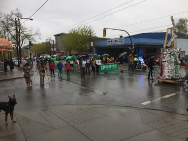 Earth Day BC Greens 4th Ave