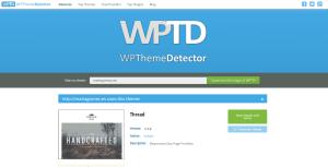 wptd - herramienta para saber qué temas y plugins usa una web wordpress
