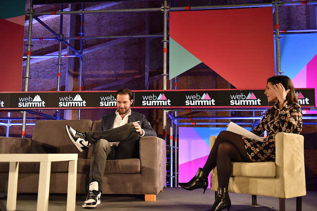 conferencia alexis ohanian en websummit 2018