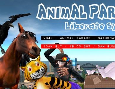 VB43 – Animal Avatar Pride Parade