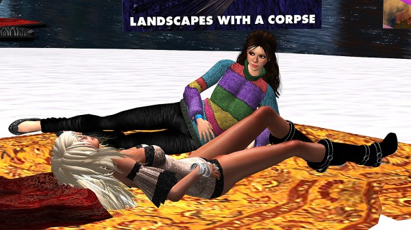 Heathers Miles and Vanessa Blaylock sitting on the beach and having a private conversation