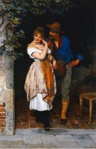 couple-courting-eugen-von-blaas