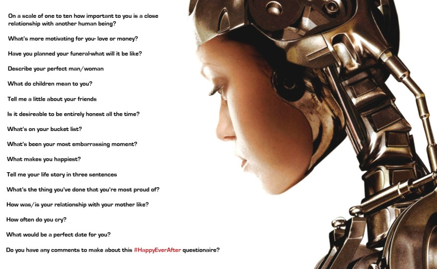 Happy Ever after questionaire questionaire
