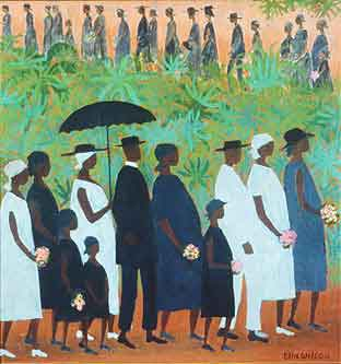Funeral_Procession_by_Ellis_Wilson