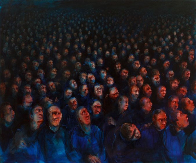 Nicola Bealing- Audience (Distracted)