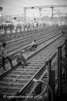 Train to Agra, India