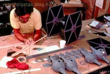 Para crear las naves espaciales se usó la tecnología diseñada por Douglas Trumbull. Fuente: www.retroforgatas.blog.hu