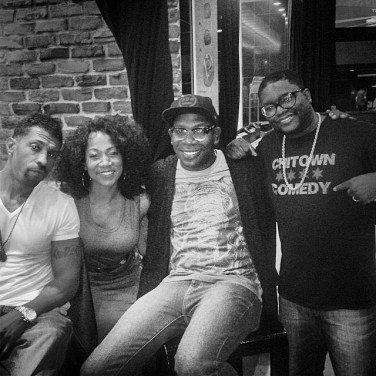 Chicago Comedy Family Deon Cole, Brian Babylon, and Lil Rel