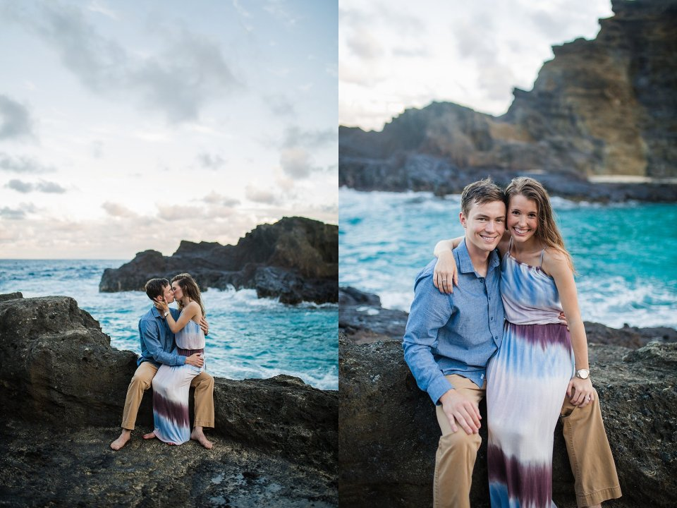 engagement session at eternity beach
