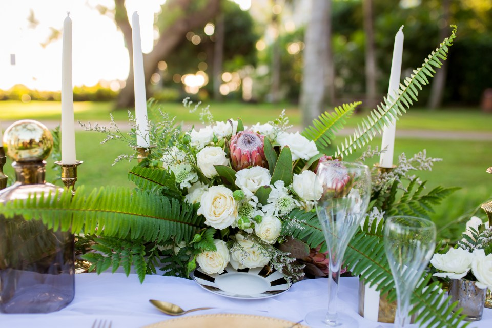 Boho Chic Wedding Inspiration Hawaii