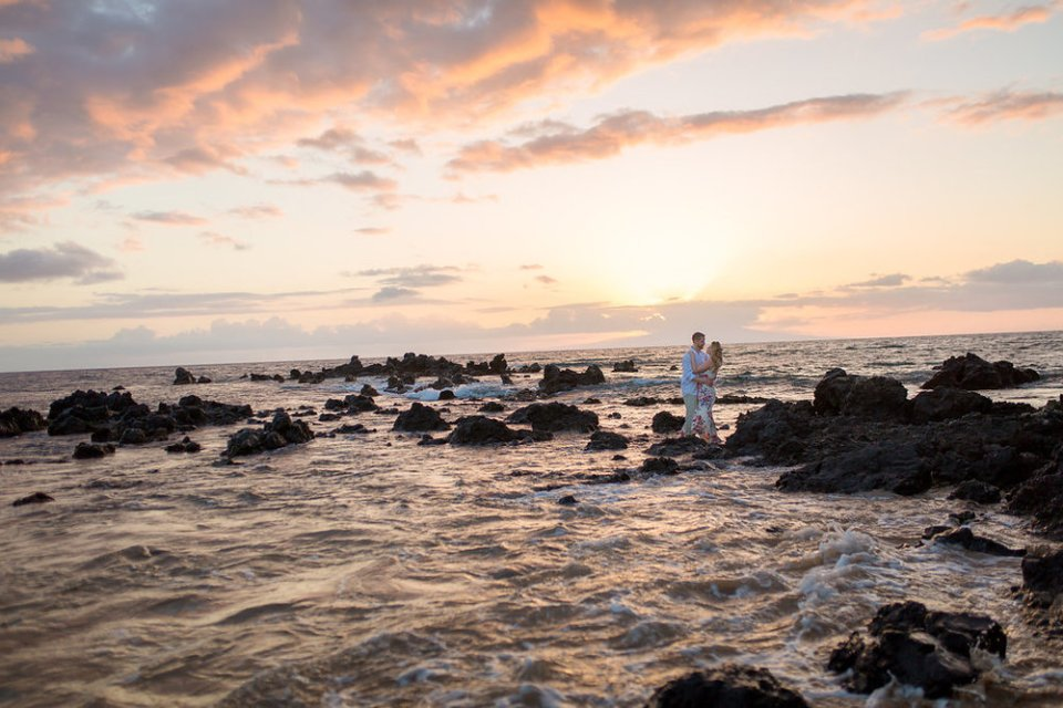 Maui Sunset Engagement session