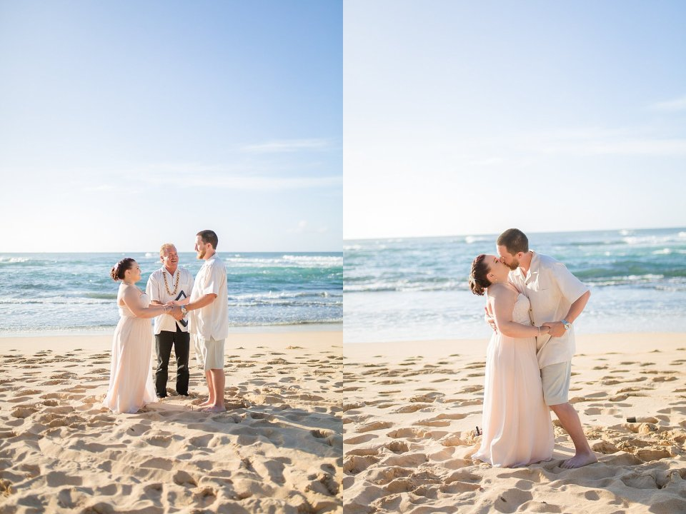 Hawaii wedding On North Shore