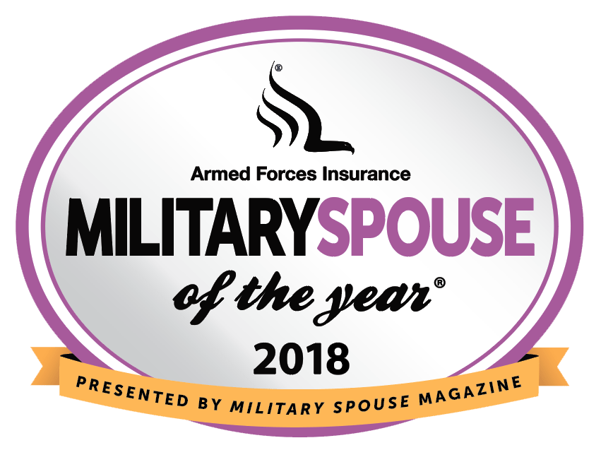 Vanessa Hicks Military Spouse of the year award