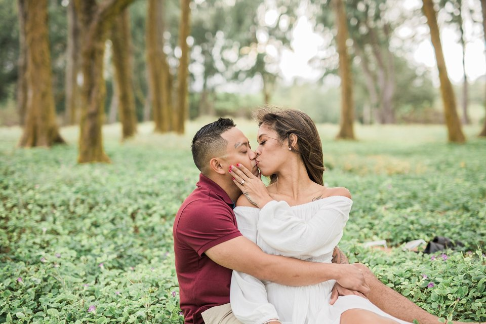 Waimanalo Beach Engagement Session in Hawaii