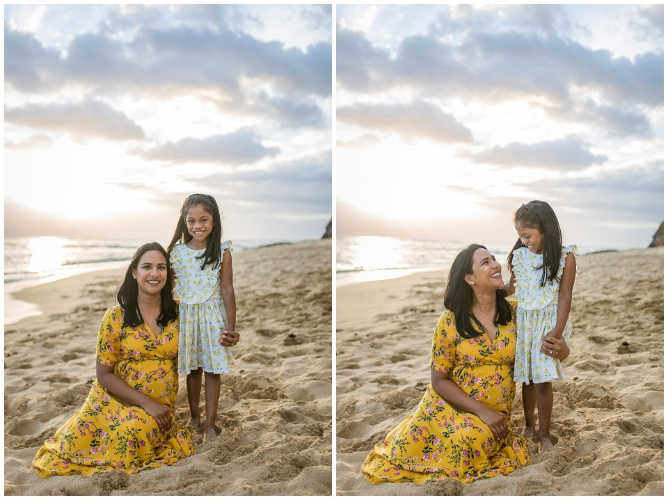 mother daughter family session