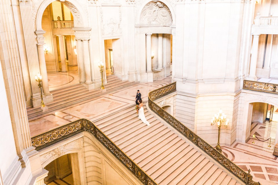 San Francisco City Hall Weddings _ Vanessa Hicks Photography