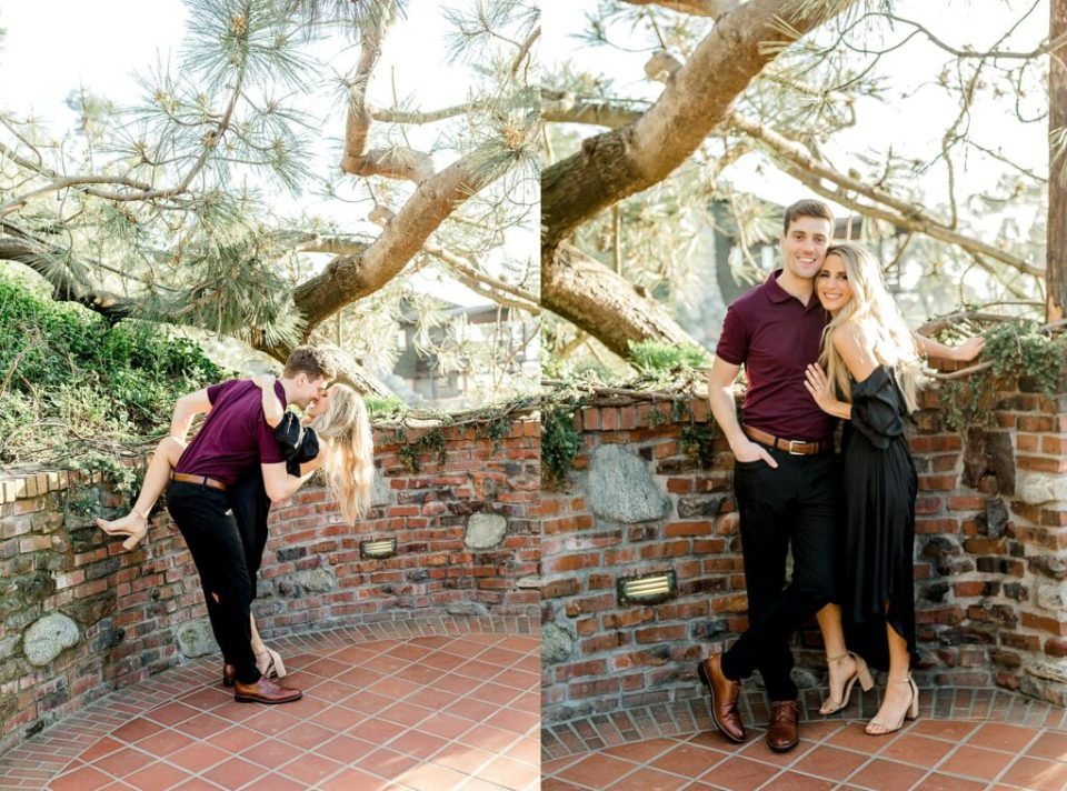 Beautiful engagement session at Torrey Pines Lodge in San Diego California