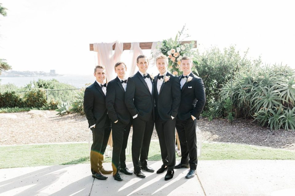 formal portraits after ceremony at martin johnson house