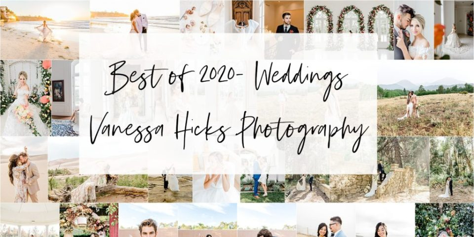 best wedding images of 2020 from Vanessa Hicks Photography