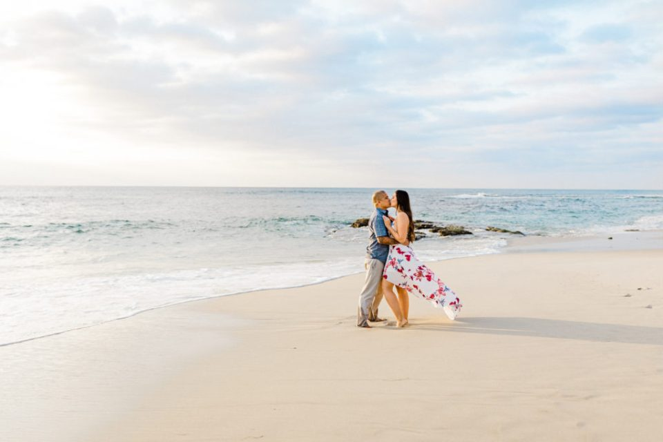 flowy dresses for engagment sessions