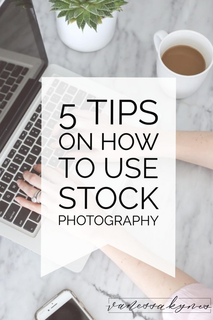 how to use stock photography
