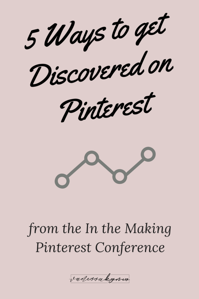 Getting discovered on Pinterest is simple, but it does require consistent effort and great content creation. In this blog post, I'm sharing 5 ways you can boost your Pinterest marketing strategy to get discovered on Pinterest.