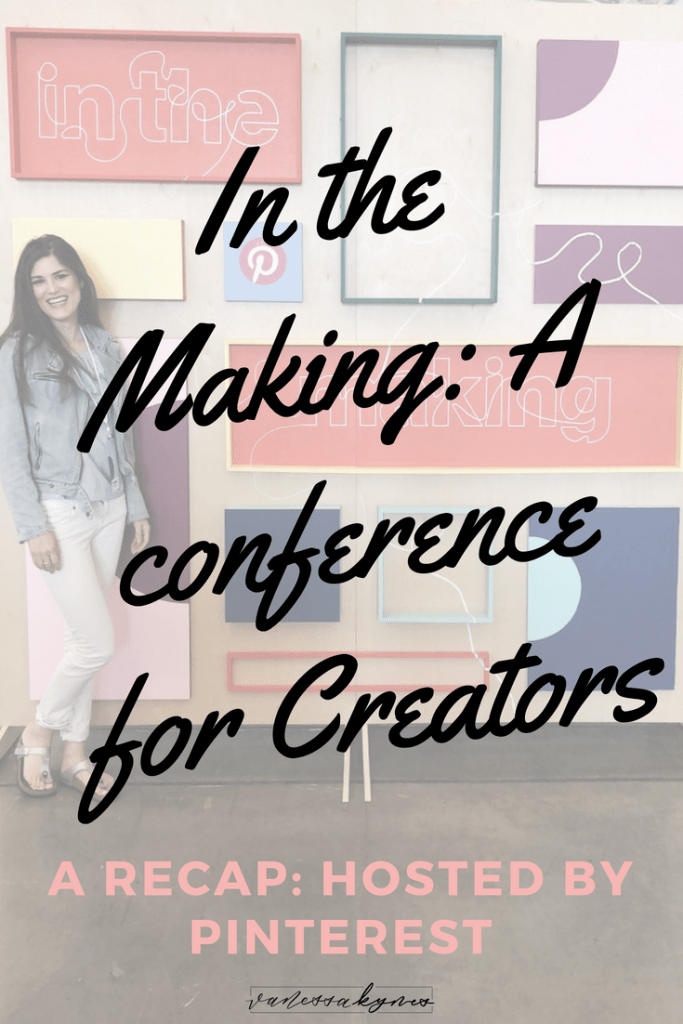 In the spring of 2018, Pinterest hosted In the Making, a Pinterest conference for creators. In this blog post, I share who I met and what I learned about Pinterest marketing and the Pinterest platform for the future.