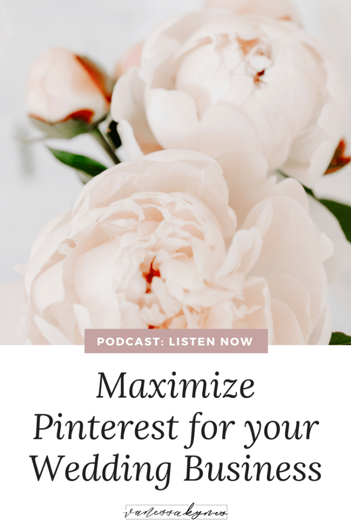 pinterest for wedding business