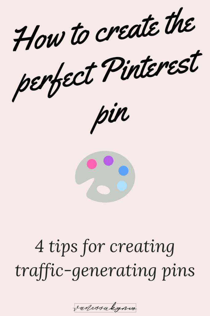 making Pinterest pins-Vanessa Kynes