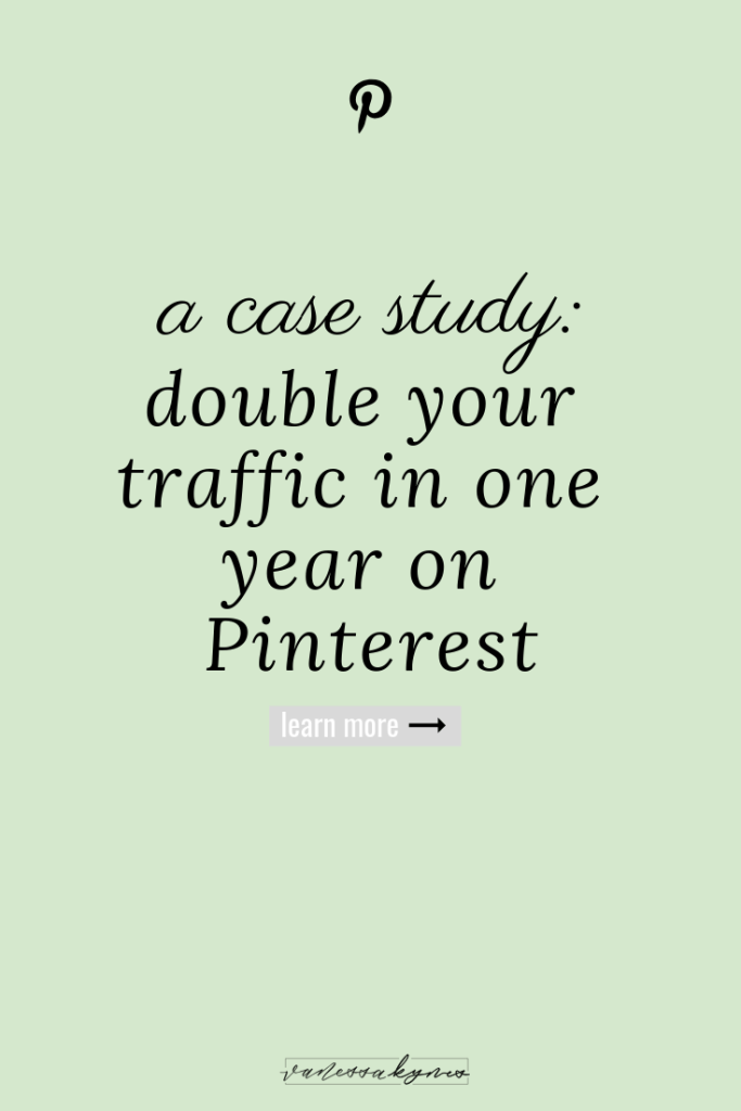 Double your traffic on Pinterest-Vanessa Kynes