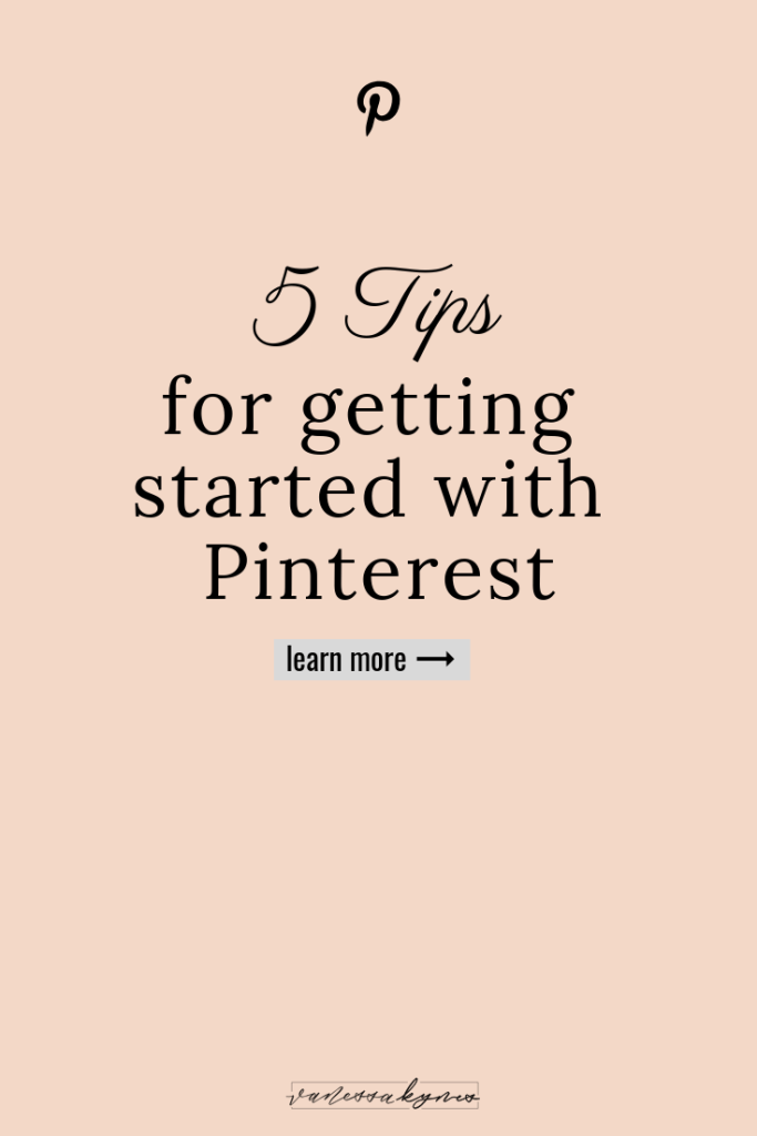 Tips for using Pinterest in your creative small business-Vanessa Kynes