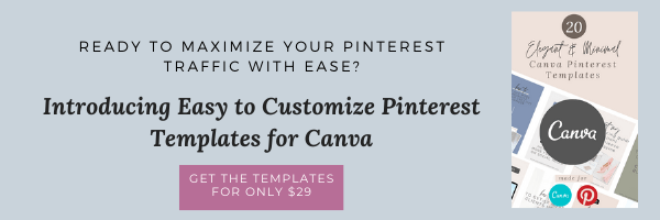 Custom Pinterest Templates for Canva- Vanessa Kynes